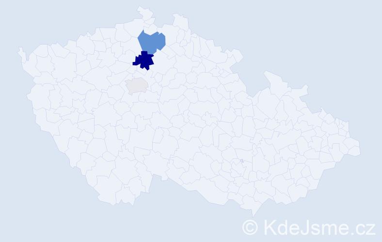 Příjmení: 'Kuzio', počet výskytů 6 v celé ČR