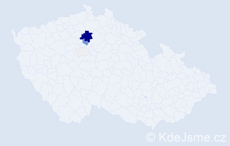Příjmení: 'Čotiová', počet výskytů 12 v celé ČR