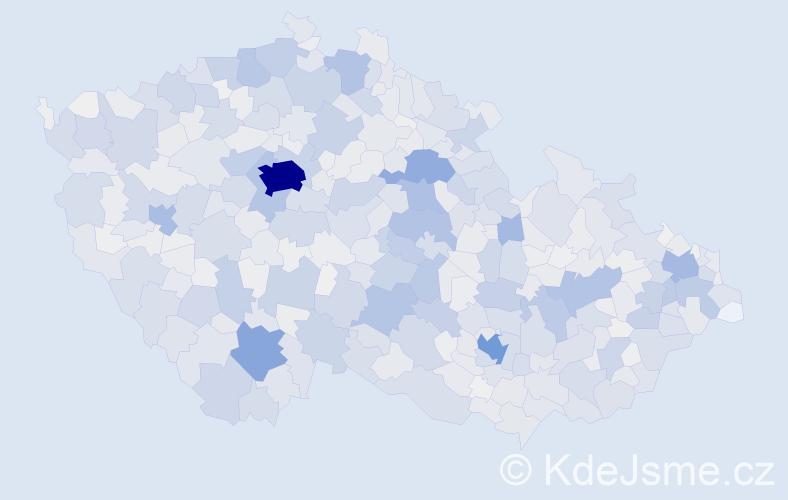Příjmení: 'Marek', počet výskytů 10848 v celé ČR