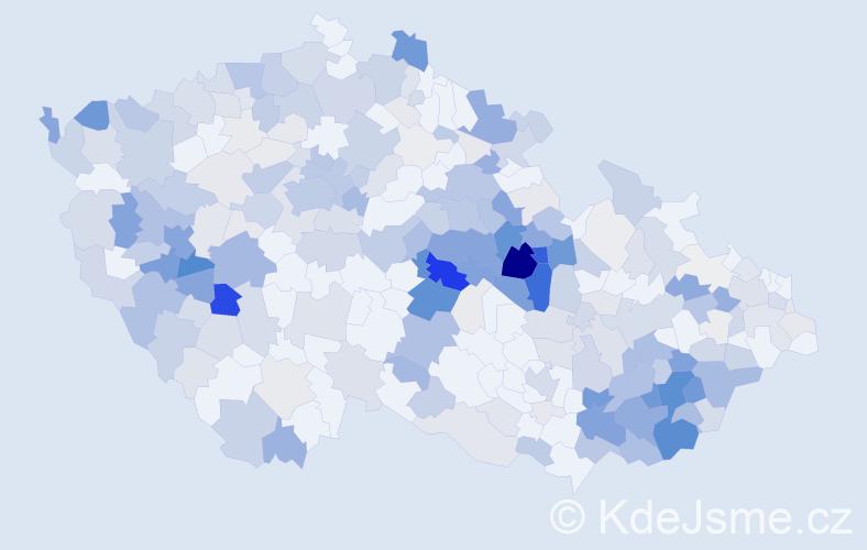 Příjmení: 'Karlíková', počet výskytů 1169 v celé ČR