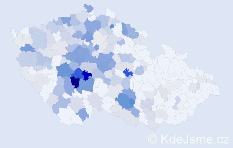 Příjmení: 'Bartůňková', počet výskytů 956 v celé ČR