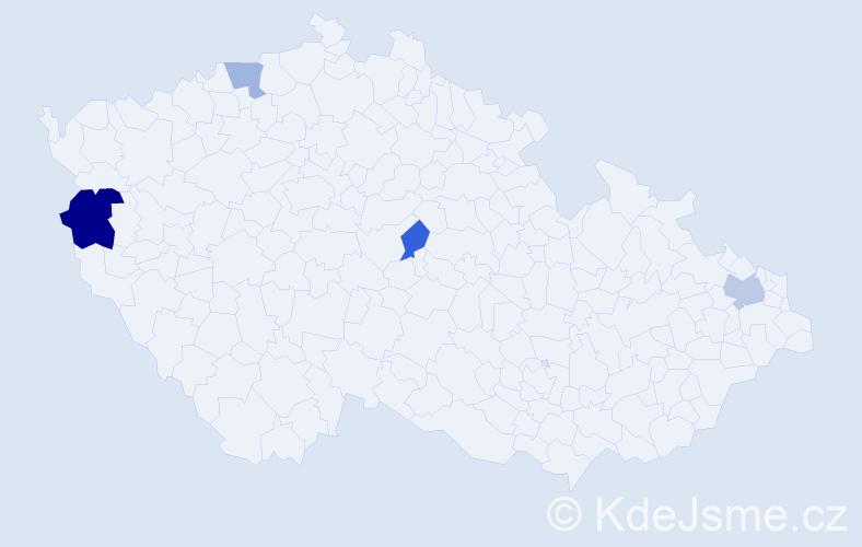 Příjmení: 'Chraščová', počet výskytů 12 v celé ČR