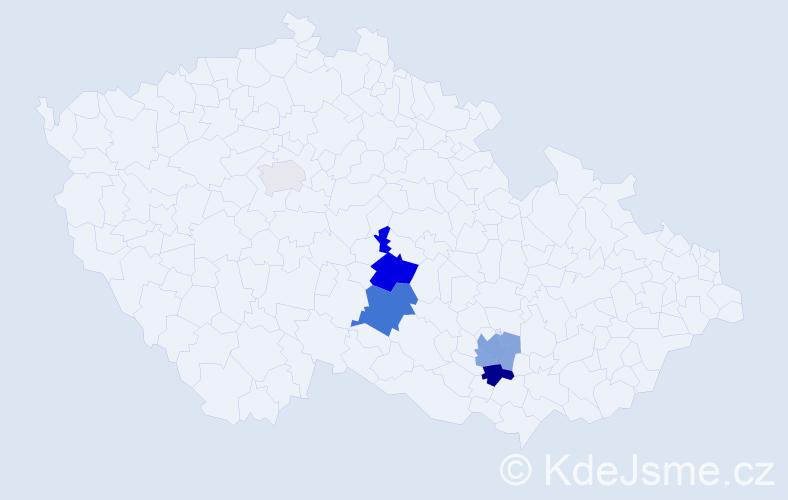 Příjmení: 'Eisenwort', počet výskytů 14 v celé ČR