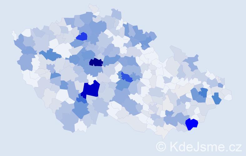 Příjmení: 'Janovská', počet výskytů 1513 v celé ČR