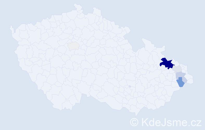 Příjmení: 'Leifert', počet výskytů 29 v celé ČR