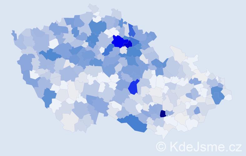 Příjmení: 'Kulhánková', počet výskytů 2186 v celé ČR