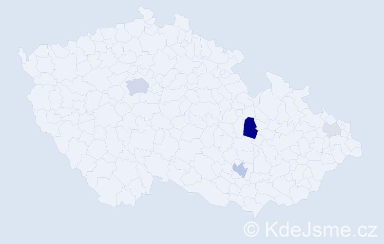 Příjmení: 'Kalhaus', počet výskytů 12 v celé ČR