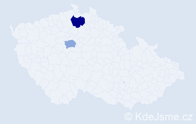 Příjmení: 'Basov', počet výskytů 3 v celé ČR