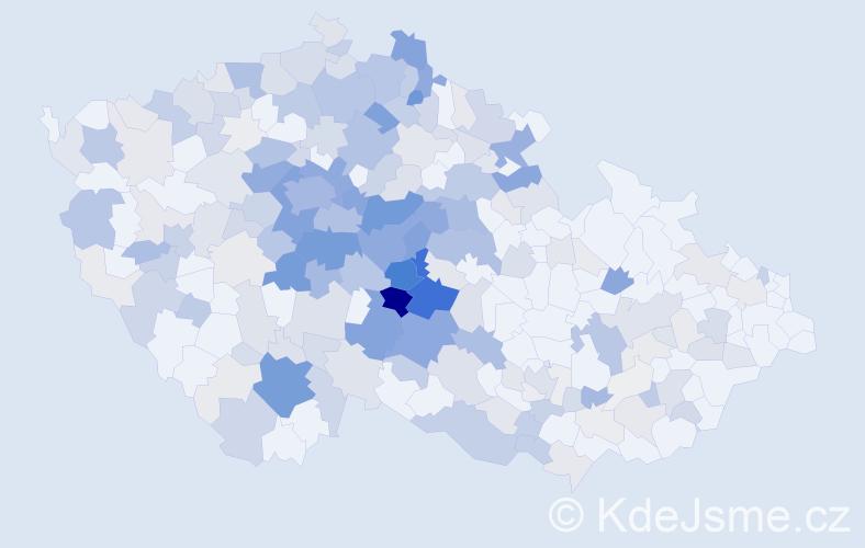 Příjmení: 'Jiráková', počet výskytů 1147 v celé ČR
