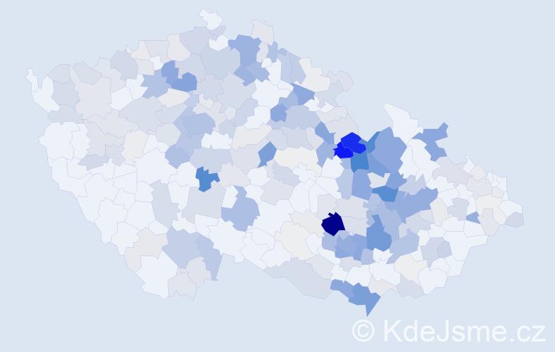 Příjmení: 'Suchomel', počet výskytů 984 v celé ČR