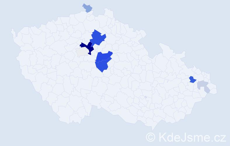 Příjmení: 'Abík', počet výskytů 32 v celé ČR