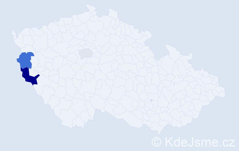 Příjmení: 'Iščenko', počet výskytů 4 v celé ČR