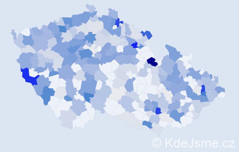 Příjmení: 'Hoffmannová', počet výskytů 1117 v celé ČR