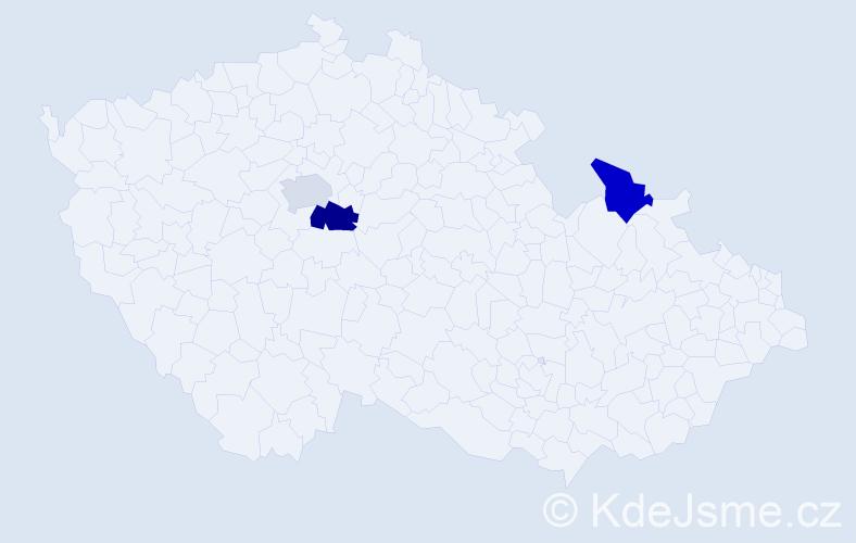 Příjmení: 'Archontidis', počet výskytů 7 v celé ČR