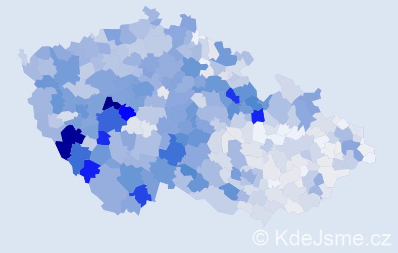 Příjmení: 'Matějka', počet výskytů 4271 v celé ČR