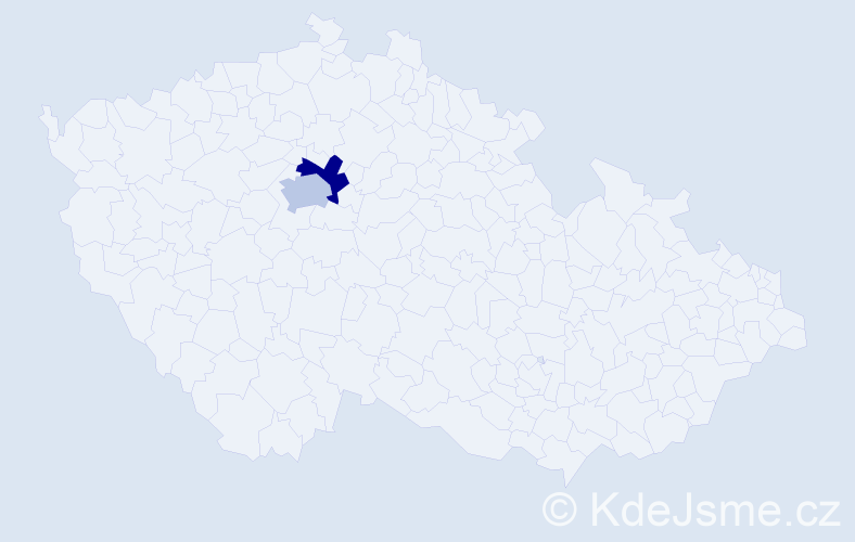 Příjmení: 'Alakbarov', počet výskytů 2 v celé ČR