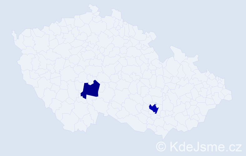 Příjmení: 'Engelsmann', počet výskytů 4 v celé ČR