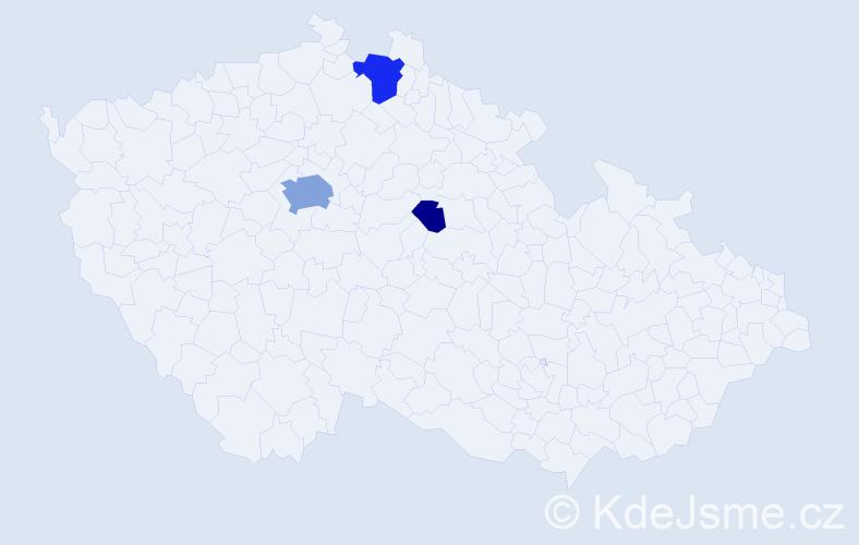 Příjmení: 'Ferjenčík', počet výskytů 11 v celé ČR