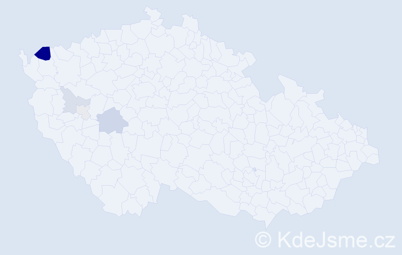 Příjmení: 'Čeporanová', počet výskytů 10 v celé ČR