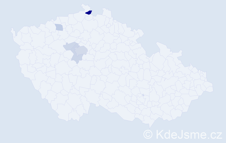 Příjmení: 'Bragagnolo', počet výskytů 12 v celé ČR