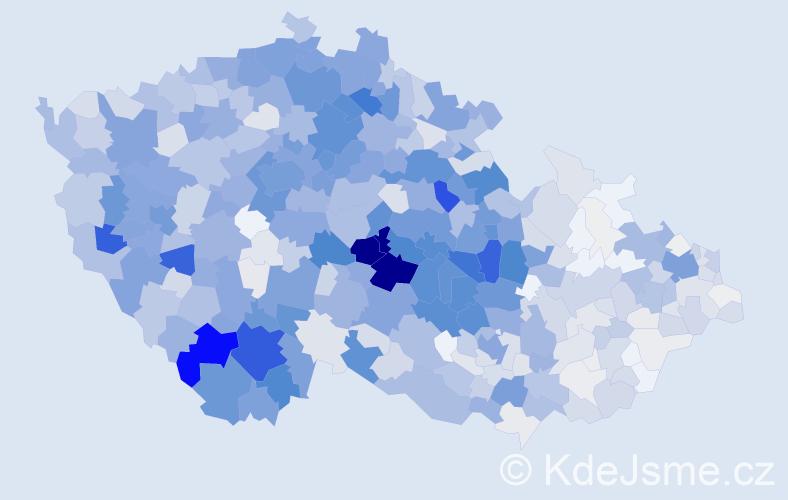 Příjmení: 'Bárta', počet výskytů 4753 v celé ČR