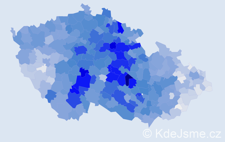 Příjmení: 'Novotná', počet výskytů 25092 v celé ČR