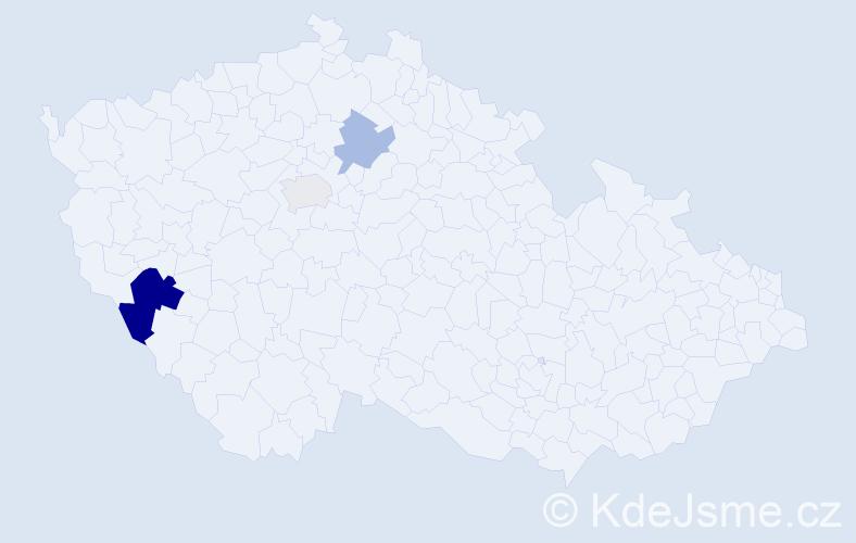Příjmení: 'Lankusová', počet výskytů 6 v celé ČR