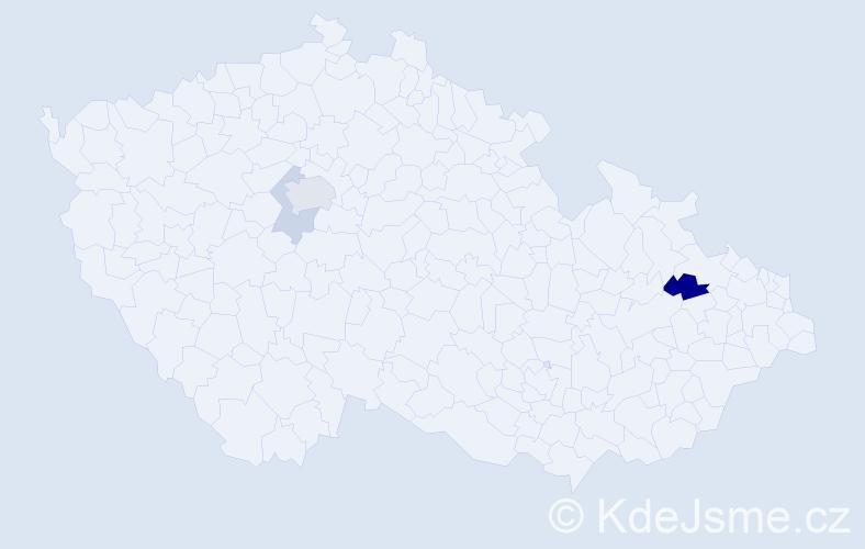 Příjmení: 'Karpitschka', počet výskytů 6 v celé ČR