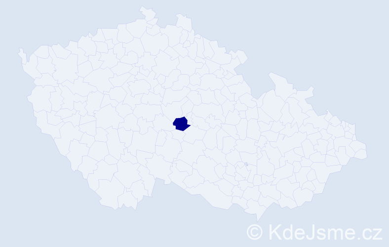Příjmení: 'Bienias', počet výskytů 2 v celé ČR