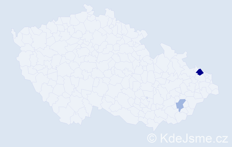 Příjmení: 'Aellig', počet výskytů 4 v celé ČR
