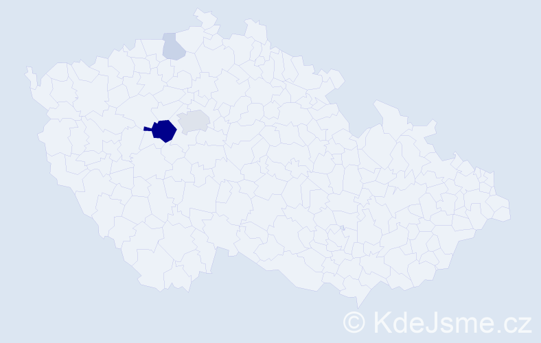 Příjmení: 'Liehne', počet výskytů 11 v celé ČR