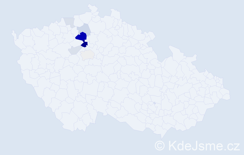Příjmení: 'Hollitzer', počet výskytů 18 v celé ČR