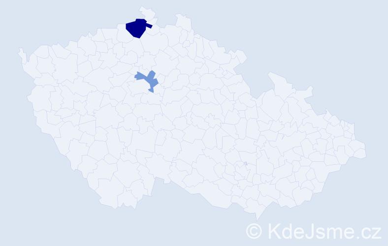 Příjmení: 'Korobczuk', počet výskytů 4 v celé ČR