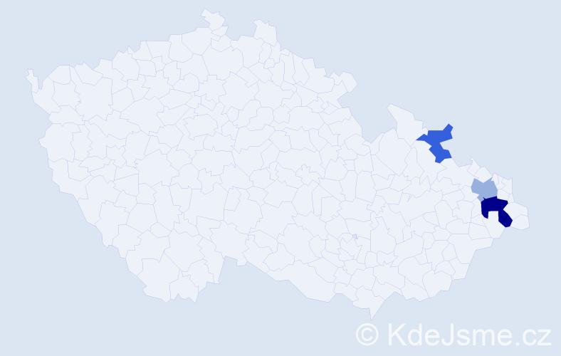 Příjmení: 'Edelsberger', počet výskytů 12 v celé ČR