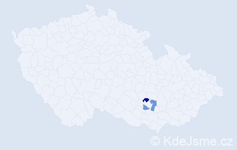 Příjmení: 'Arvanitopulos', počet výskytů 2 v celé ČR