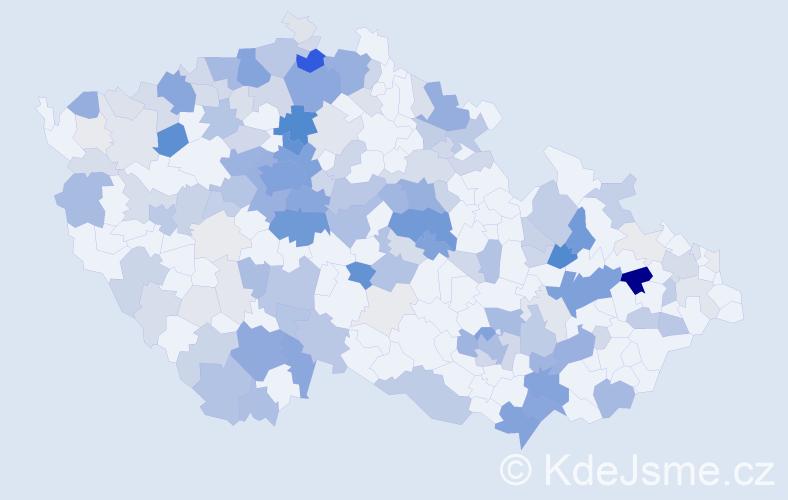 Příjmení: 'Konrádová', počet výskytů 685 v celé ČR
