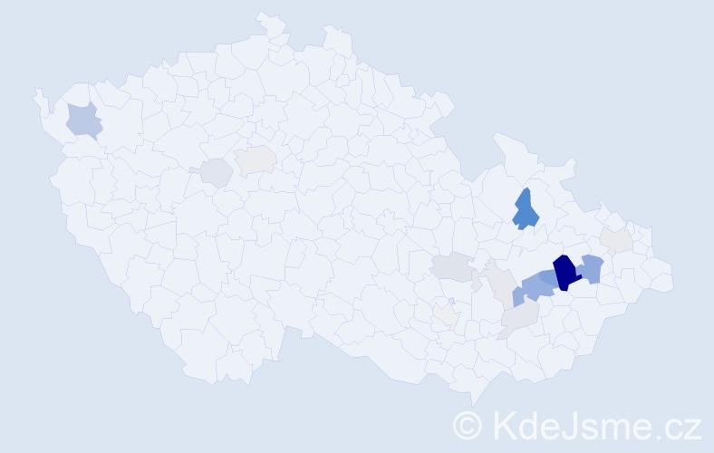 Příjmení: 'Dreiseitl', počet výskytů 51 v celé ČR