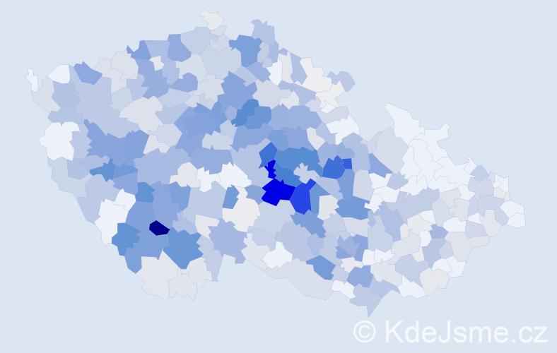 Příjmení: 'Čejka', počet výskytů 2028 v celé ČR