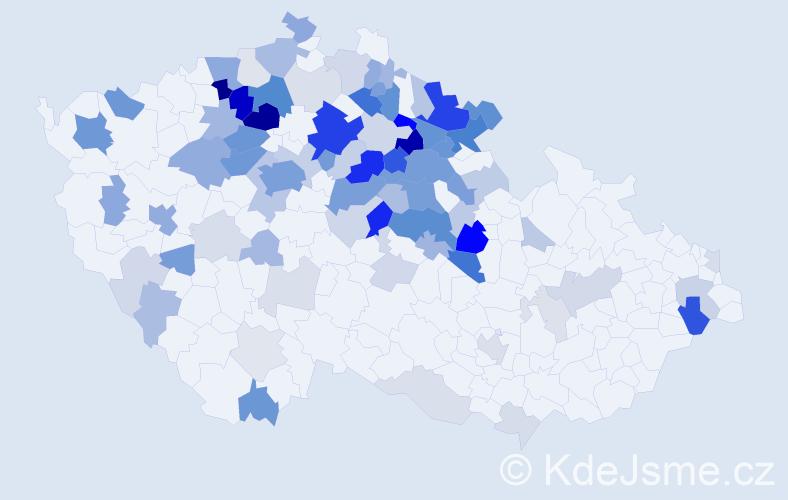 Příjmení: 'Hlušičková', počet výskytů 297 v celé ČR