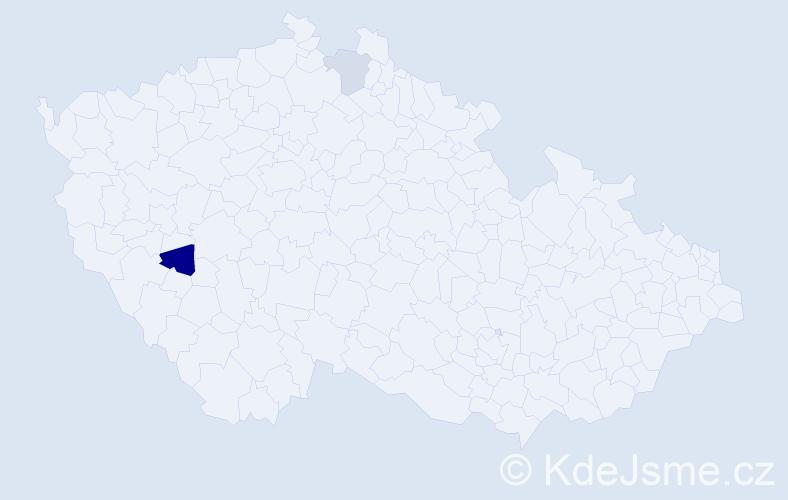 Příjmení: 'Kordovanová', počet výskytů 3 v celé ČR