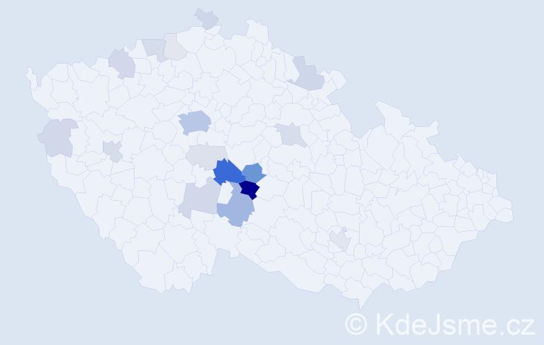 Příjmení: 'Limburský', počet výskytů 71 v celé ČR