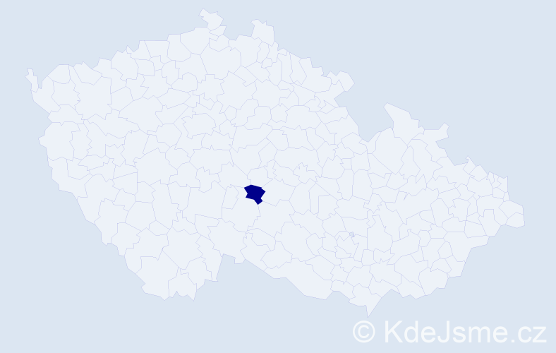 Příjmení: 'Ennsmannová', počet výskytů 1 v celé ČR