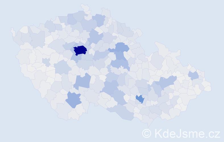 Příjmení: 'Novotný', počet výskytů 24274 v celé ČR