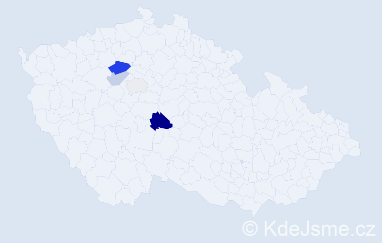 Příjmení: 'Geschnabelová', počet výskytů 8 v celé ČR