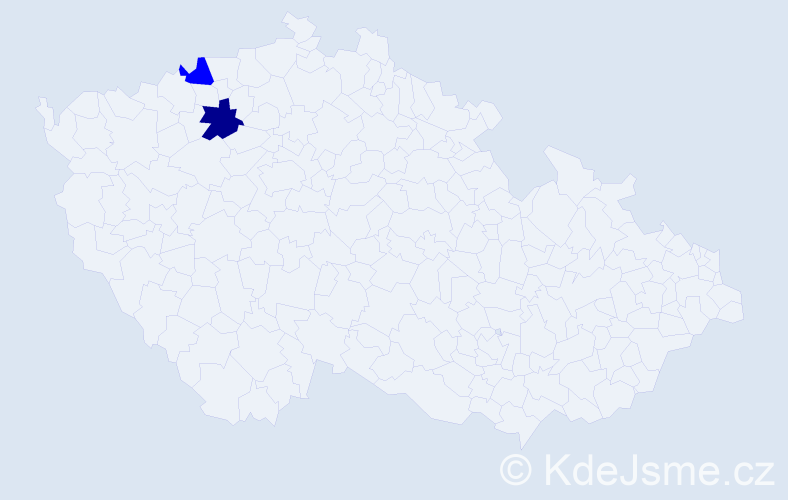 Příjmení: 'Aidlpesová', počet výskytů 7 v celé ČR