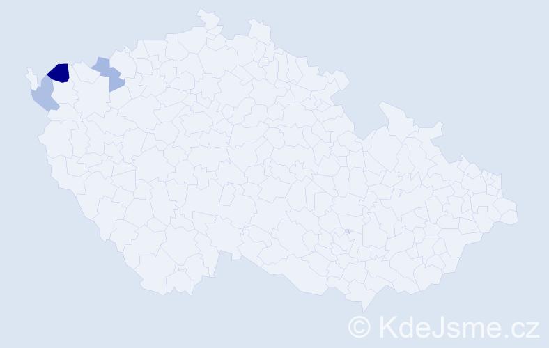 Příjmení: 'Engelmayer', počet výskytů 4 v celé ČR