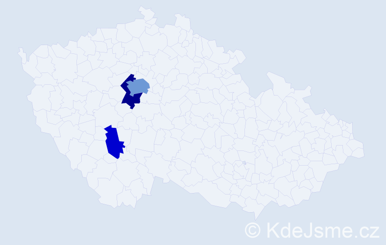 Příjmení: 'Glücksmann', počet výskytů 8 v celé ČR