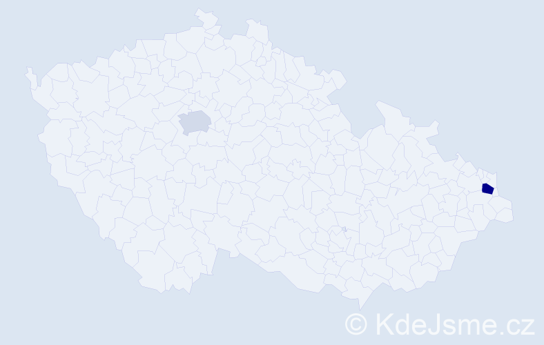 Příjmení: 'Kobielska', počet výskytů 3 v celé ČR