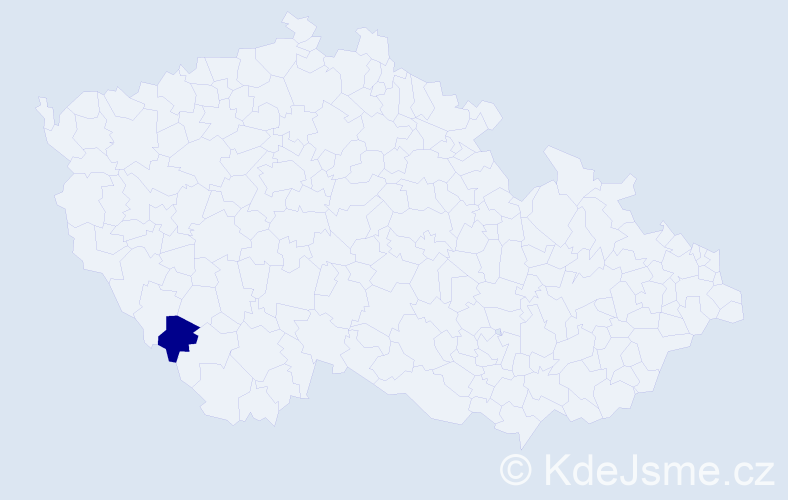 Příjmení: 'Aetova', počet výskytů 2 v celé ČR