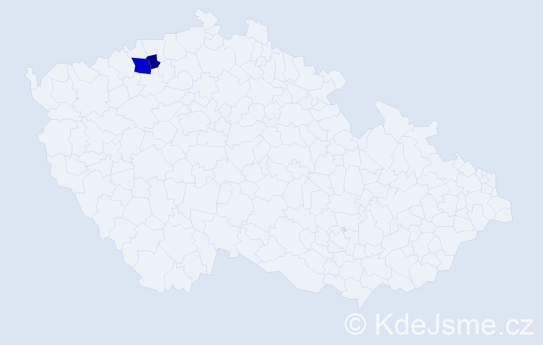Příjmení: 'Lenartovič', počet výskytů 4 v celé ČR